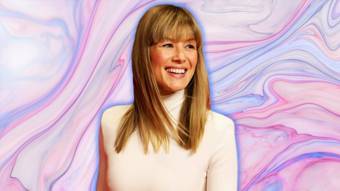 Why Rosamund Pike Is Often 'Scared'