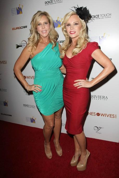 Vicki Gunvalson and Tamra Barney
