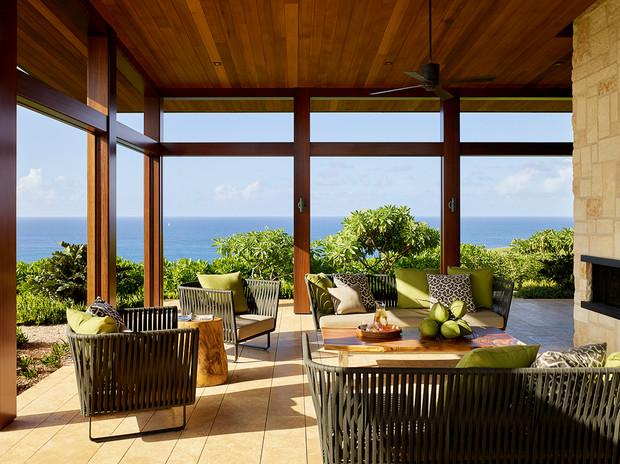 Open air Hawaiian home