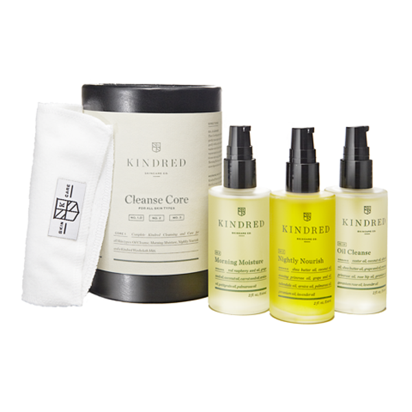 Beauty Products That Will Sell Out Fast This Holiday Season | Kindred Skincare Co. Cleanse Core Set