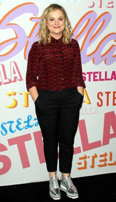Amy Poehler Stella McCartney Autumn 2018