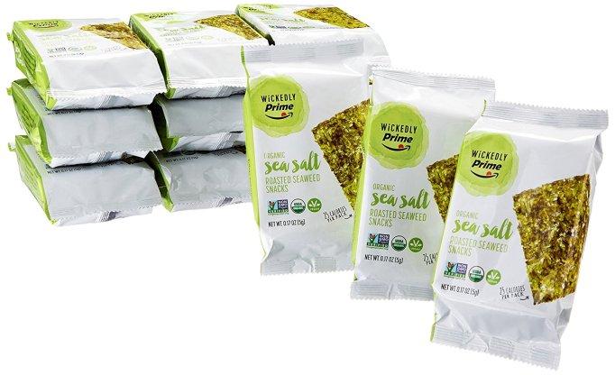 Wickedly Prime Organic Roasted Seaweed Snacks