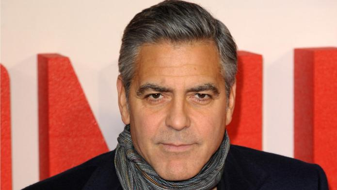George Clooney helping with his wedding