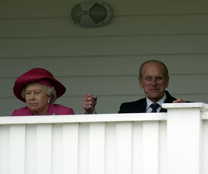 Queen Elizabeth II & Prince Philip in 2005