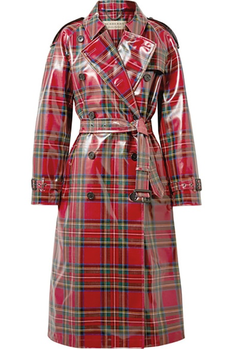 Holiday Outfit Color Combos | Burberry trench