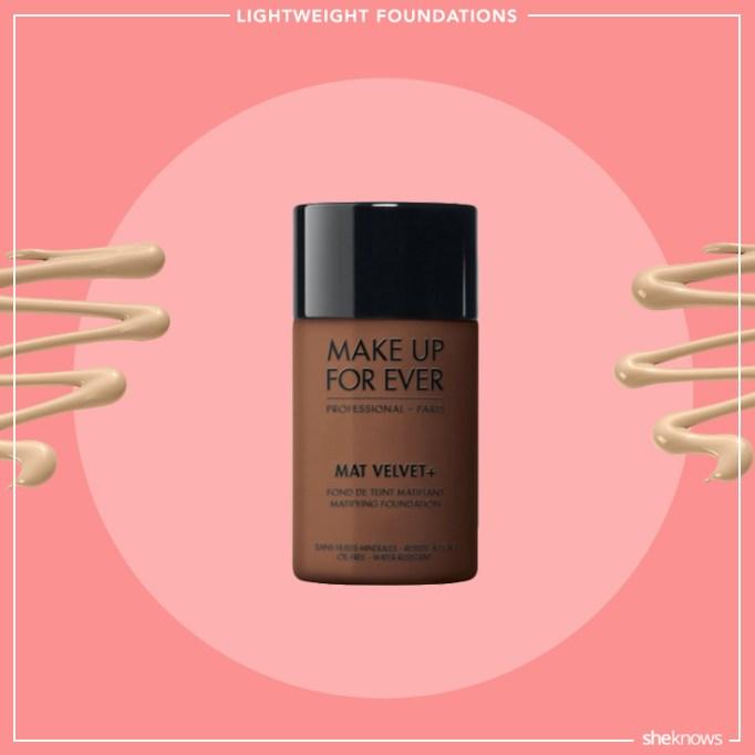 Makeup forever Mat Velvet + Matifying Foundation