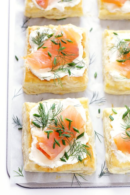 Recipes to give you vitamin D during winter | Smoked Salmon & Cream Cheese Pastries