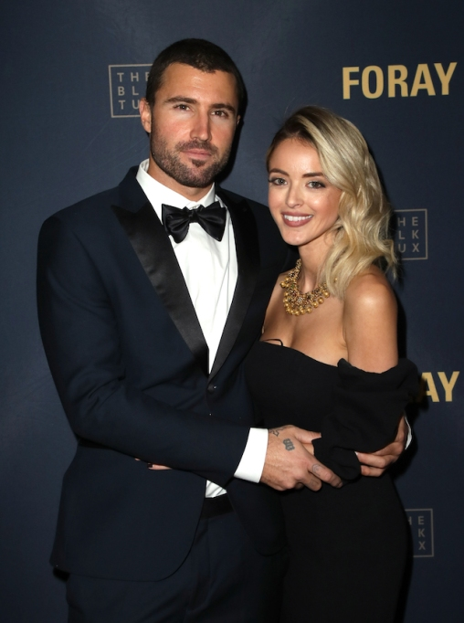Brody Jenner & Kaitlynn Carter attend FORAY Collective and The Black Tux Host Holiday Gala