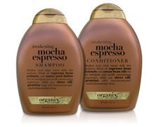 Organix Mocha Espresso Shampoo and Conditioner