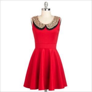 ModCloth Two Happy Hearts Dress