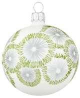 Crate & Barrel: Snowburst ball ornament