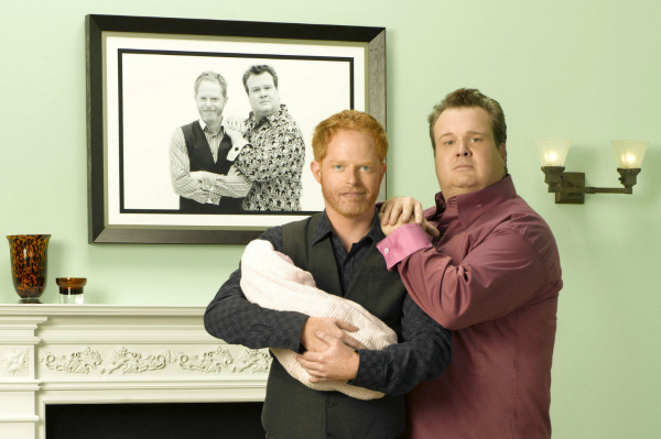 Modern Family's Mitch and Cam