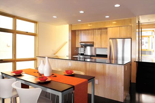 Modern Sunny Kitchen