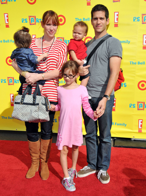 Molly Ringwald and her family