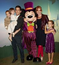 Molly Ringwald and family