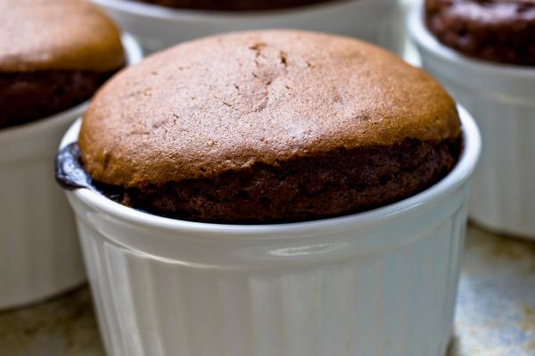 Molten Chocolate Pudding Cake