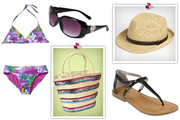 Bikini fashions for daughter