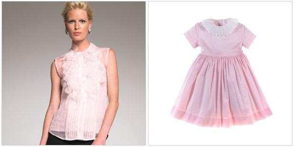 Look prescious and pink in Oscar De La Renta