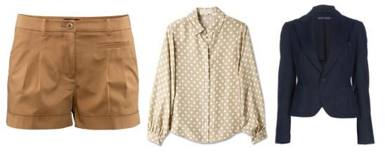 Dress those shorts up!