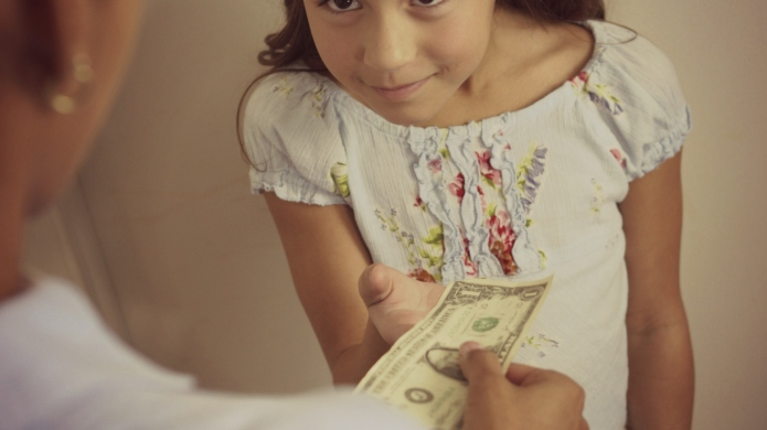 It's easy to bribe your kids,