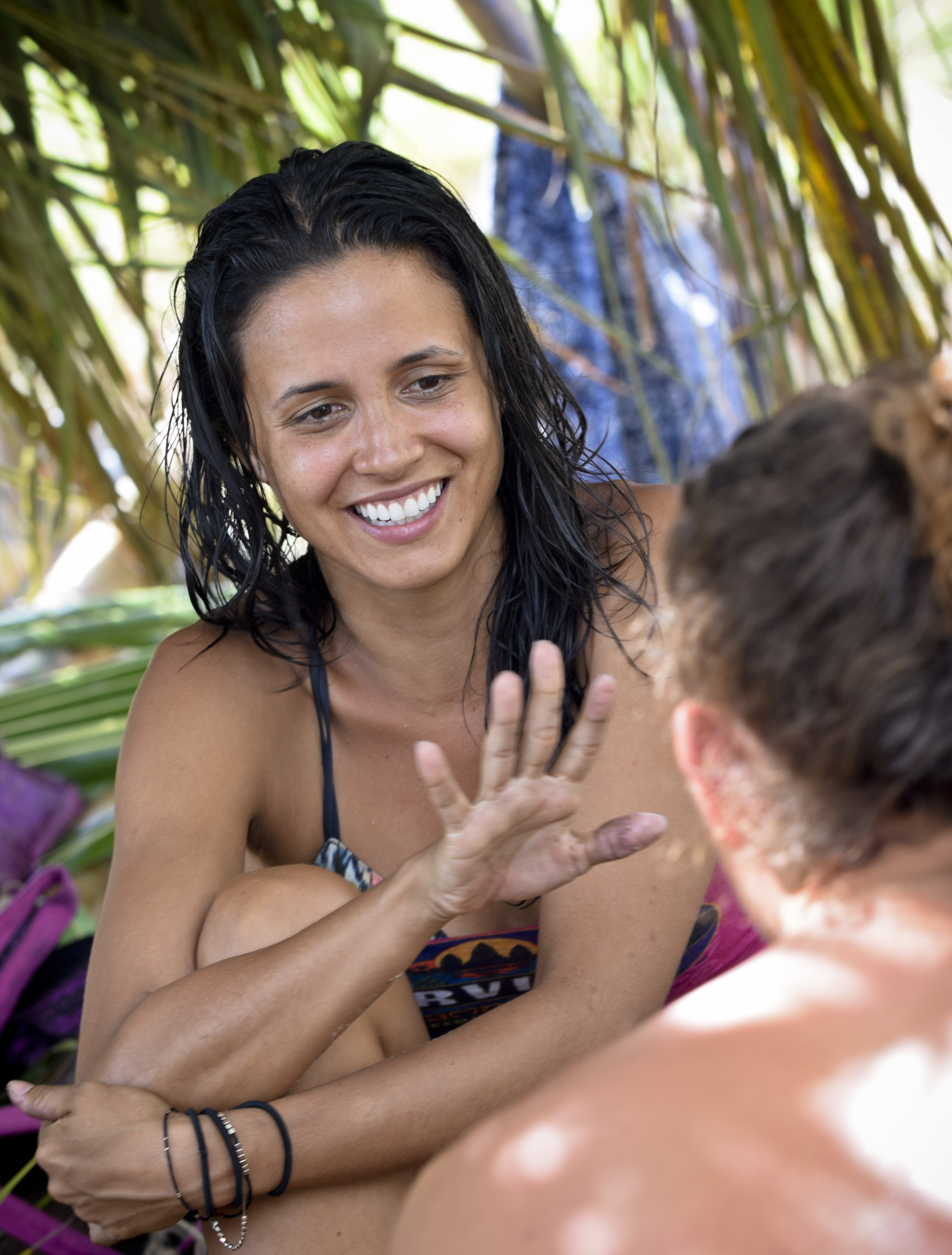Monica Padilla on Survivor: Second Chance