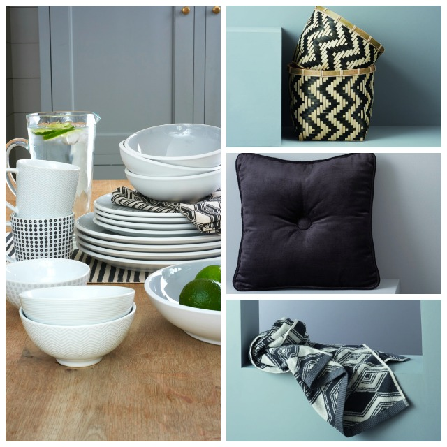Monochrome home decor for Spring 2015