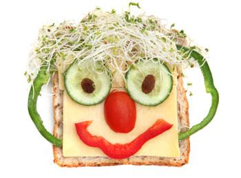 Monster sandwich faces