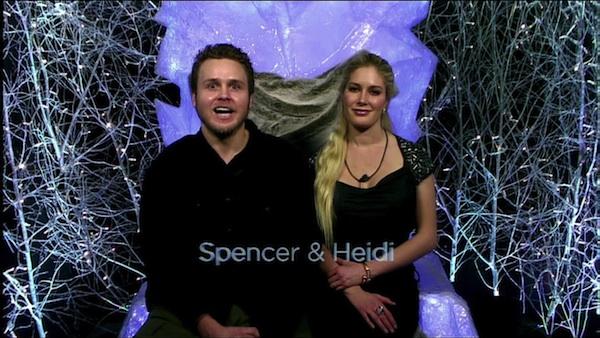 Montag and Pratt on Celebrity Big Brother U.K. finale.