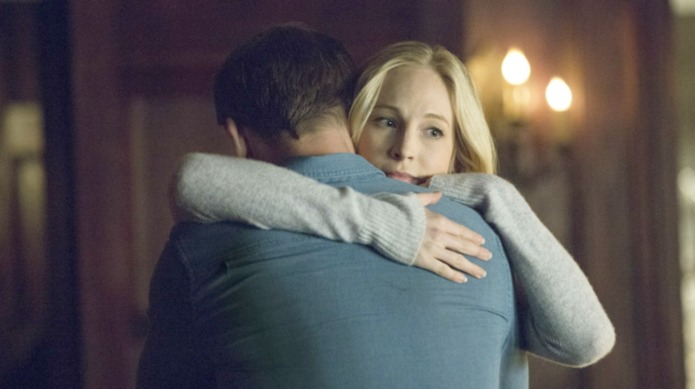 The Vampire Diaries' Caroline & Stefan