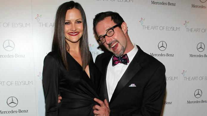 David Arquette & Christina McLarty engaged