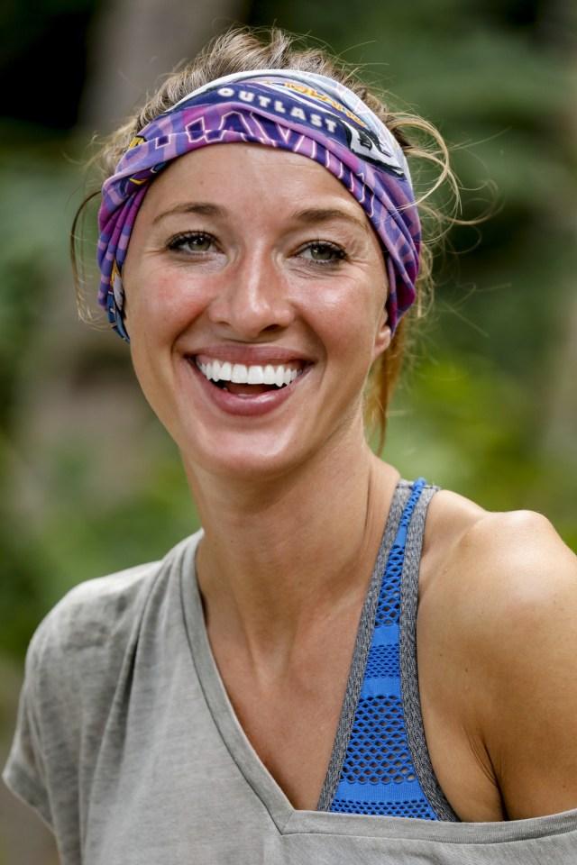 Morgan Ricke on Survivor: Ghost Island