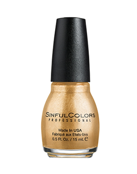 Top Nail Trends For 2018 | Sinful Colors 'Gold Medal'