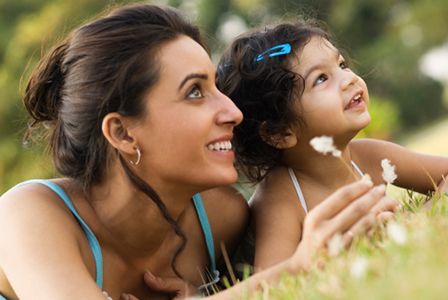 Mother and child of Indian ethnicity | Sheknows.com