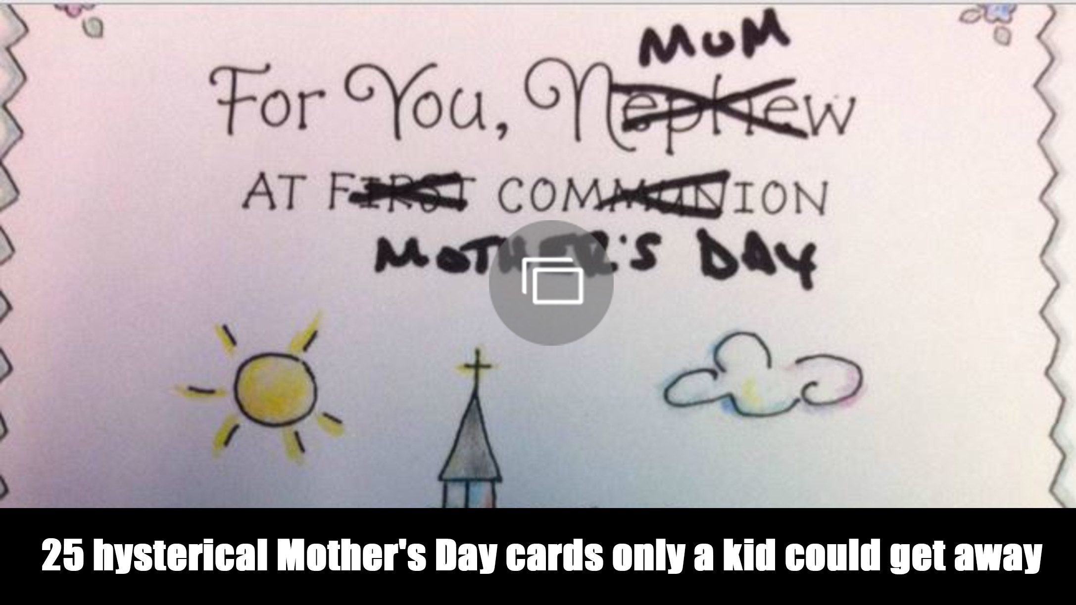 mothers day cards funny