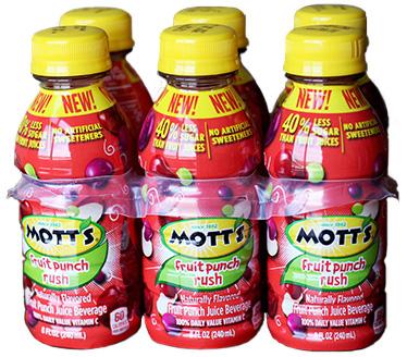 Mott's Fruit Rush Punch