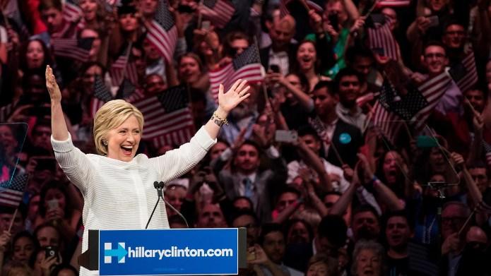 BROOKLYN, NY - JUNE 7: Democratic