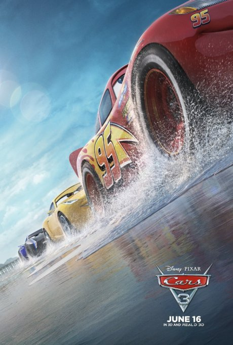 'Cars 3' movie poster