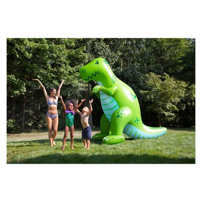 Ginormous Dinosaur Sprinkler
