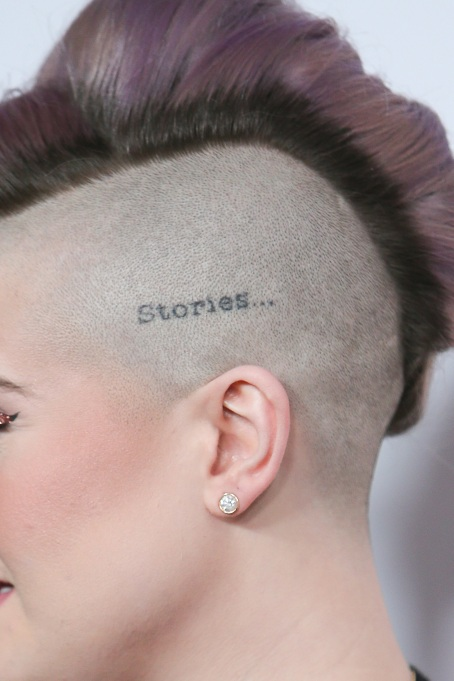 11 Genius Ideas for Secret Tattoos: Scalp tattoo