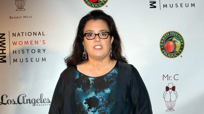 Rosie O'Donnell shows off her 53-pound