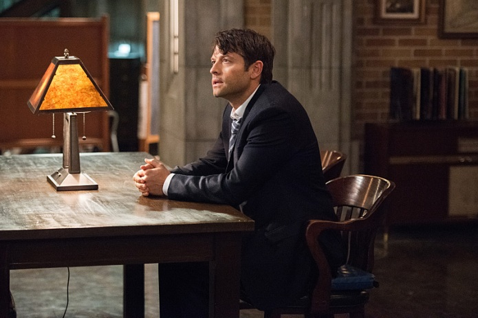 Supernatural: Castiel's refusal to eject Lucifer