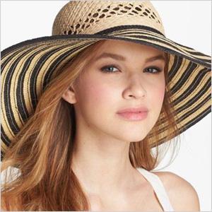 Trendy summer hats