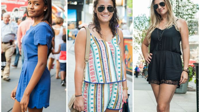 13 Street style romper outfits that