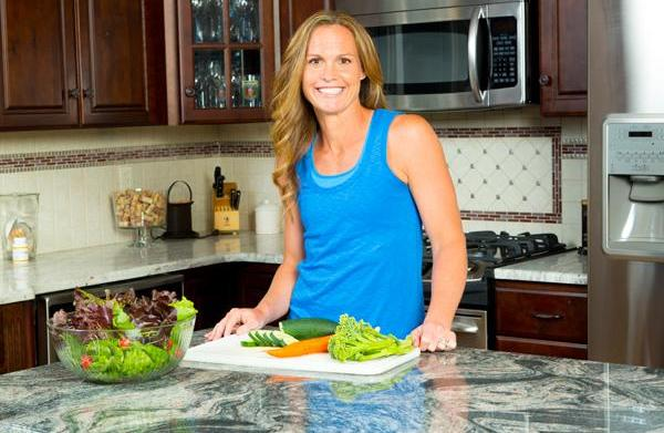 Pro soccer player Christie Rampone on