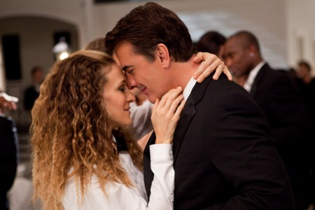 Carrie and Mr Big in Sex and the City 2