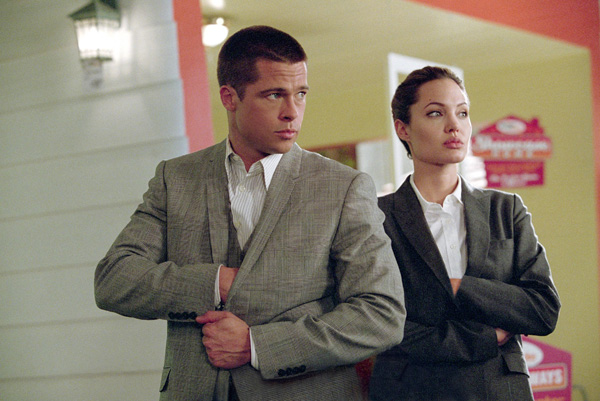 Brad Pitt and Angelina Jolie, Mr and Mrs Smith