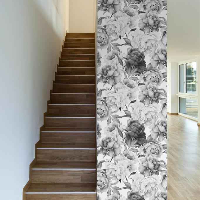 Modern Victorian Decor: This removeable wallpaper can instantly transform your space