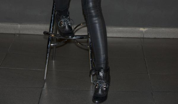 Who wore these leather leggings?