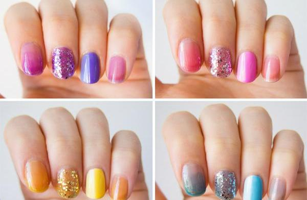 OPI's sheer tints: Four ways they