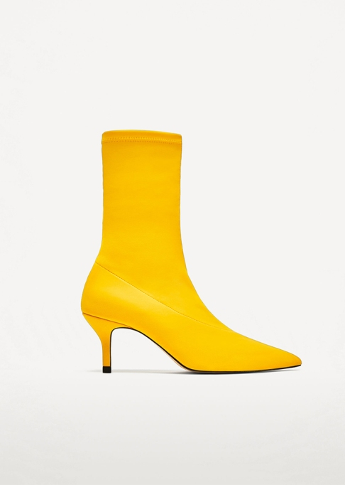 Fall Boots To Shop Before They Sell Out: Zara Fabric Ankle Boots | Fall Fashion Trends 2017